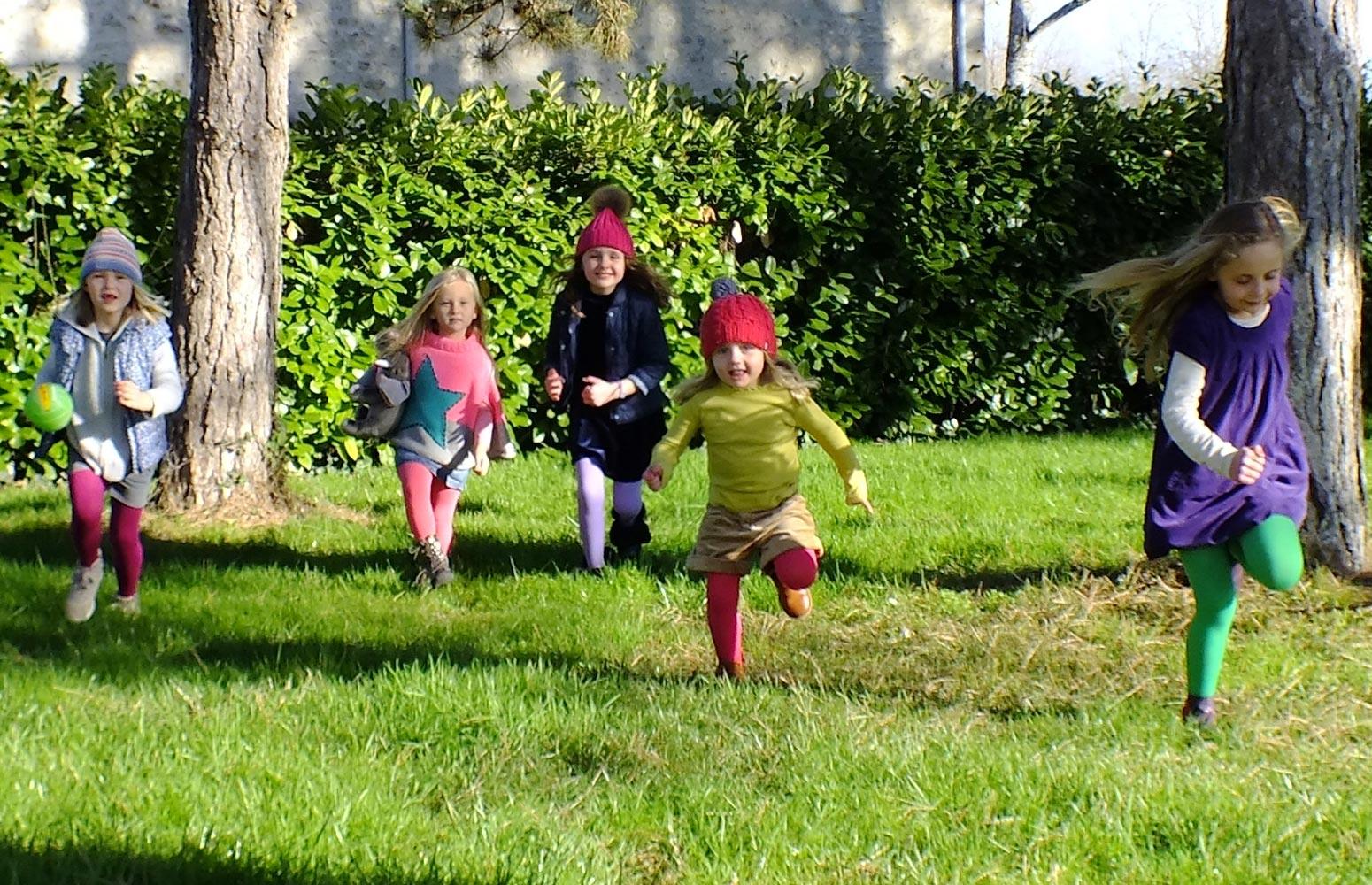 Country Kids Girls Luxury Warm Winter Tights Sage Green 9-11 Years Manufacturer Size Years UK